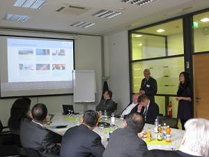 chinesische Investoren bei Siemens und Frey Architekten Freiburg