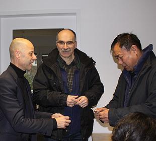 Besucher aus Tibet bei Frey Architekten Freiburg