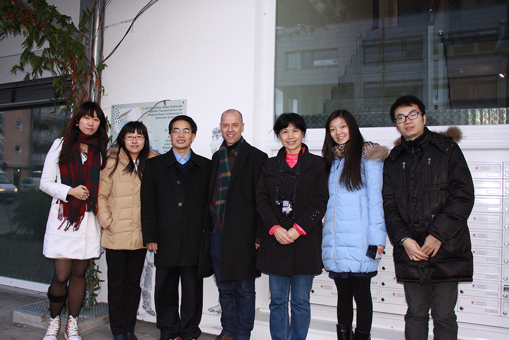 Professors form Tsinghua University visit Frey Architekten