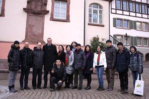 Vanke visting Frey Architekten in Freiburg, Bahlingen and Eichstetten
