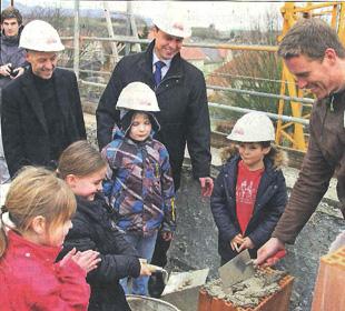 Spatenstich mit Frey Architekten in Eichstetten