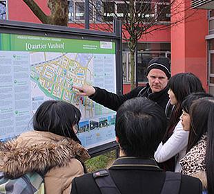 Professoren der TsingHua University zu Besuch bei Frey ArchitektenFreiburg