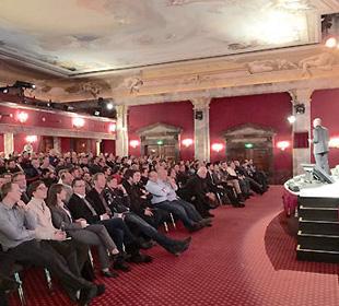 Wolfgang Frey Vortrag auf Siemens Sympos 2015