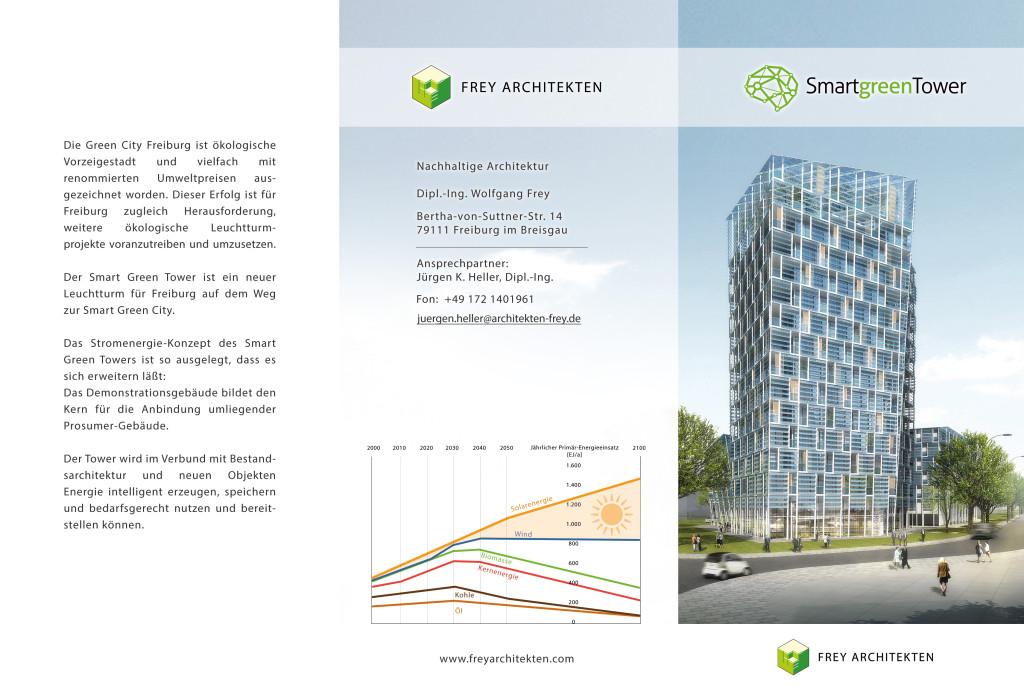 Flyer Frey Architekten Smart Green Tower Freiburg