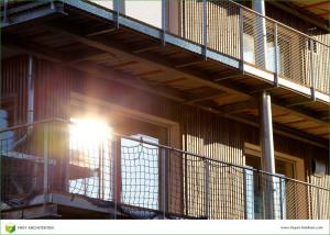 Pilotprojekt Holzhaus: Frey Architekten, Freiburg