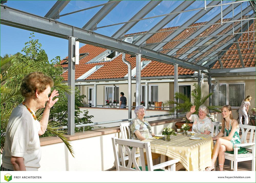 Seniorenwohnanlage Schwanenhof. Frey Architekten