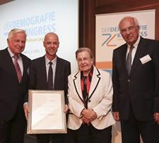 Auszeichnung - Der Demografiekongress 2015