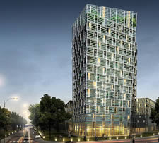 SoNaTe - Förderprogramm, Smart Green Tower Freiburg