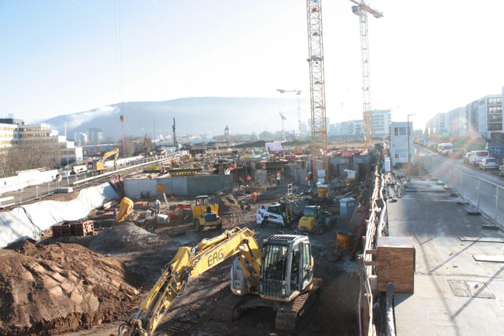 2015-12-10: Fundamentierung + Stahlbetonarbeiten Bauteil A+B