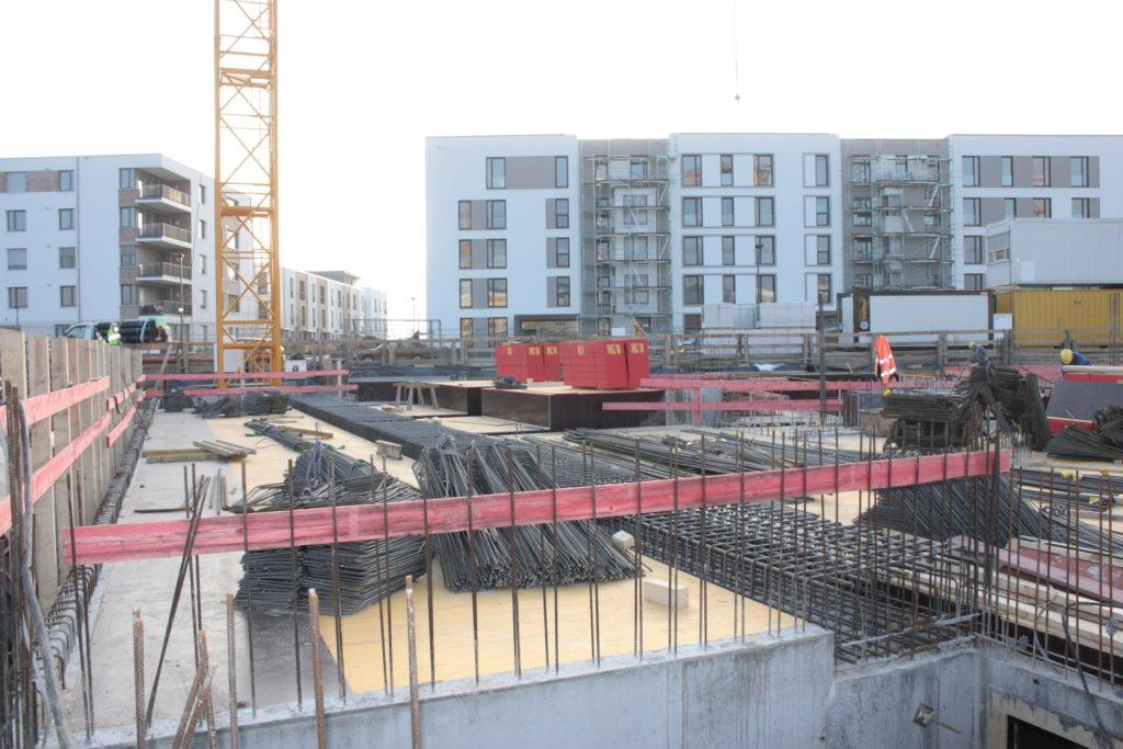 2015-12-15: Stahlbetonarbeiten Bauteil B