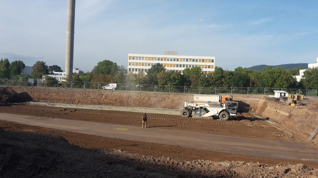 2015-09-21: Erdbauarbeiten Bauteil / Haus B