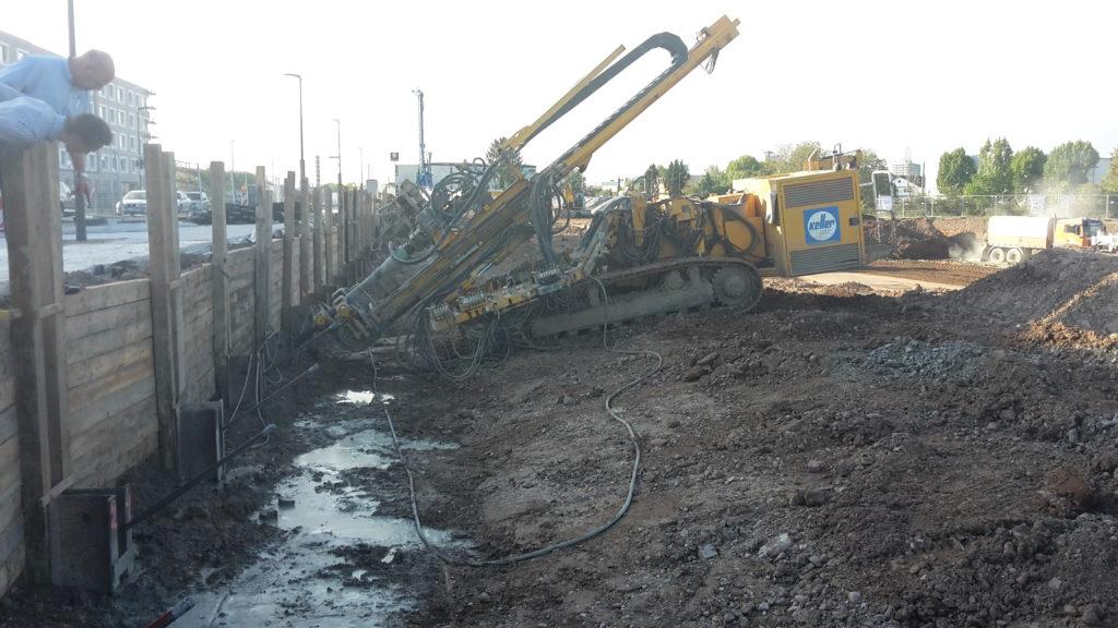 2015-09-21: Rückverankerung Verbau