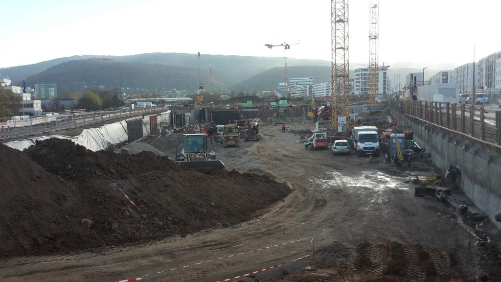 2015-11-10: Fundamentierung + Stahlbetonarbeiten Bauteil B
