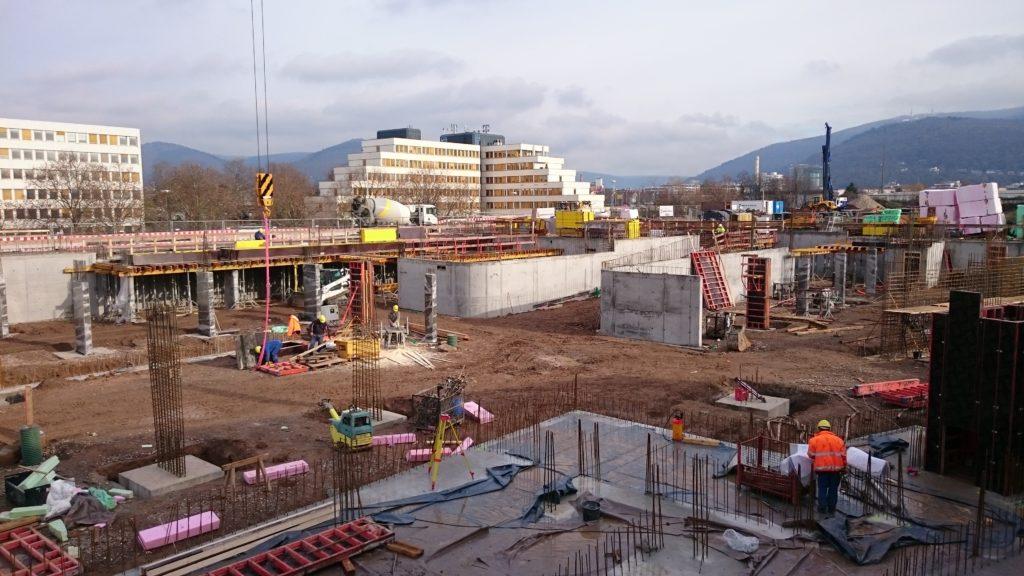 2015-11-25: Fundamentierung + Stahlbetonarbeiten Bauteil B