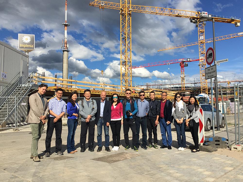Chinesische Delegation Heidelberg Village Frey Architekten