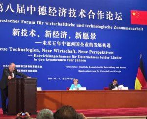 Wolfgang Frey Architekten Angela Merkel China Li Keqiang China 2016