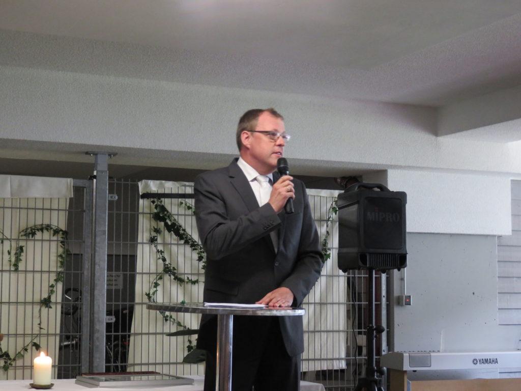 Rede von Harald Lotis, Bürgermeister von Bahlingen