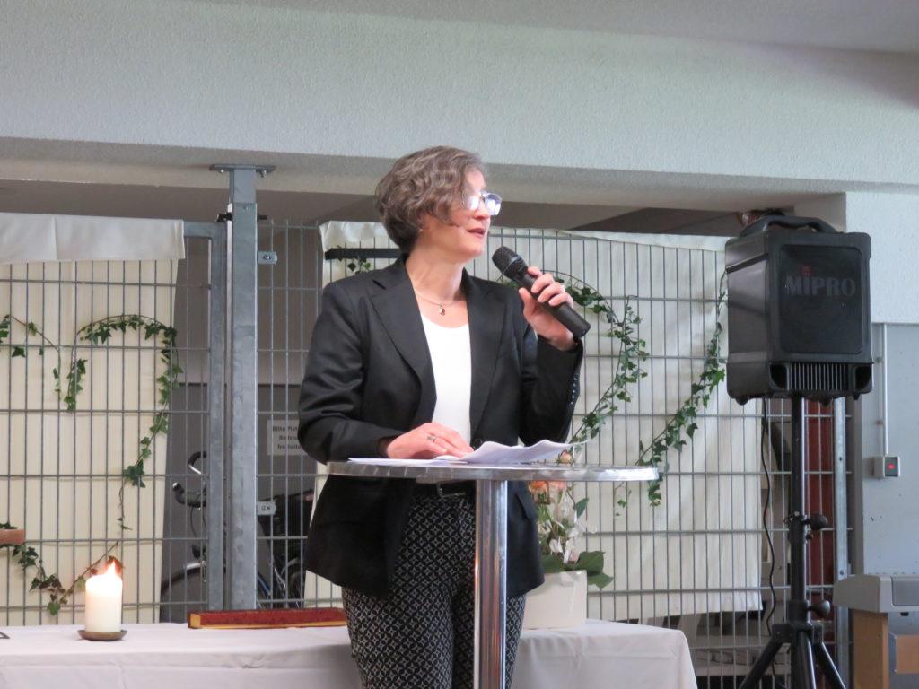 Rede von Sozialdezernentin Frau Dr. Kleinknecht-Strähle vom Landratsamt Emmendingen