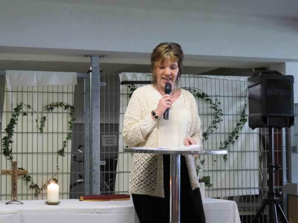 Rede von Frau Finkbeiner, Heimleiterin des ASB Bahlingen