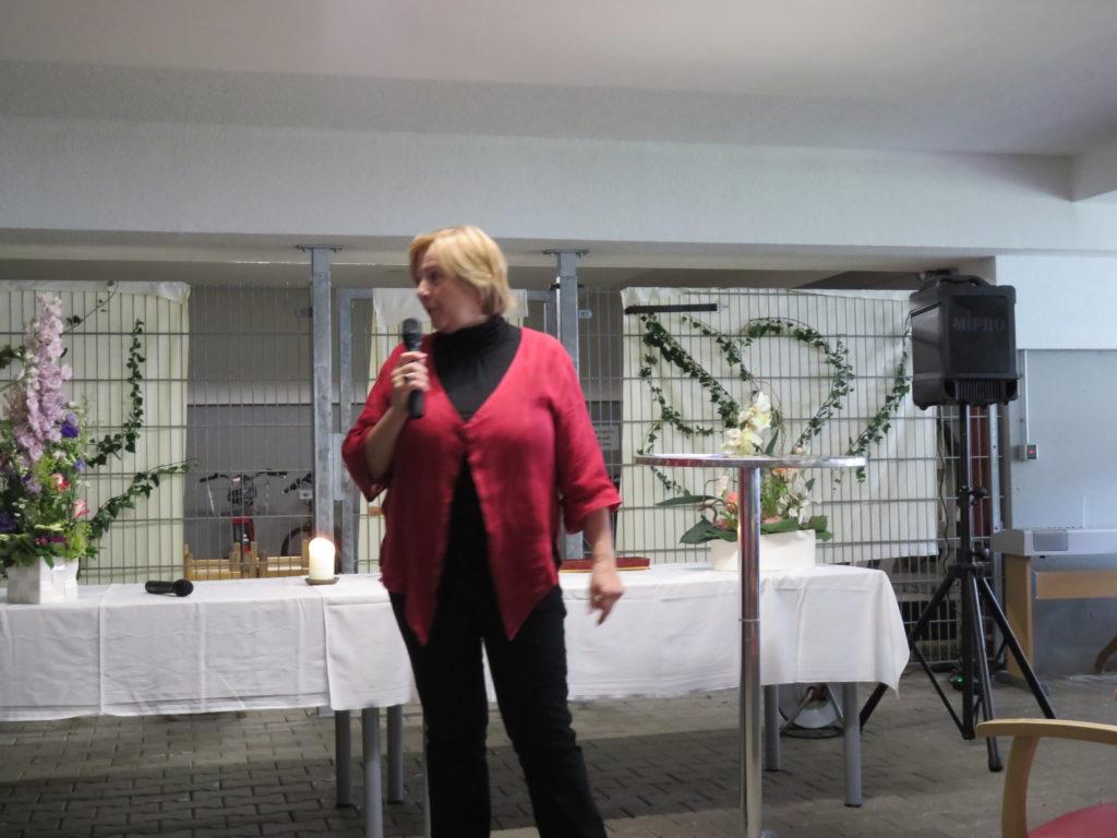 Rede von Frau Lang, Inhaberin der Tagesstätte im Kaiserstuhl