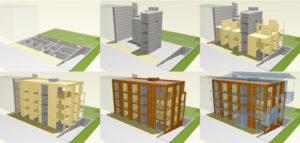 """""""生态木屋""""建造过程"""