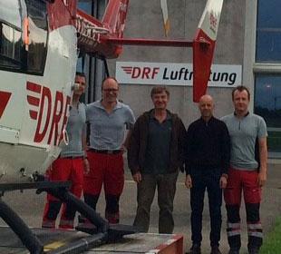 Matern von Marschall Bundestagsabgeordneter Frey Architekten DRF Luftrettung