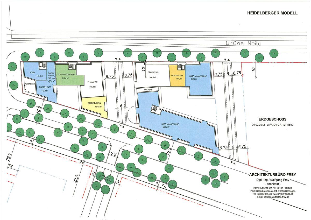 frey architekten projects heidelberg village living. Black Bedroom Furniture Sets. Home Design Ideas