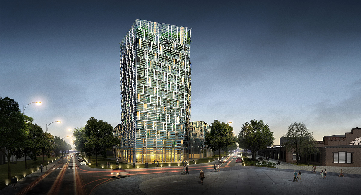 Frey Architekten Projekte Smart Green Tower