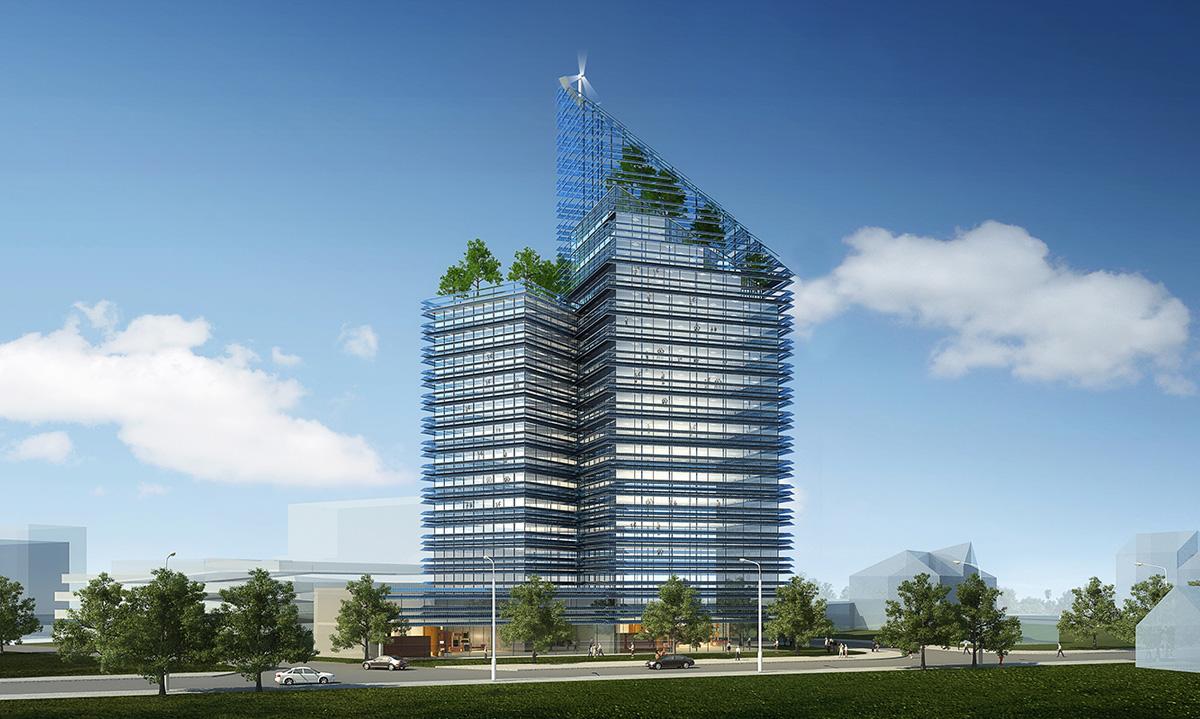 Frey Architekten Projekte Smart Green Tower