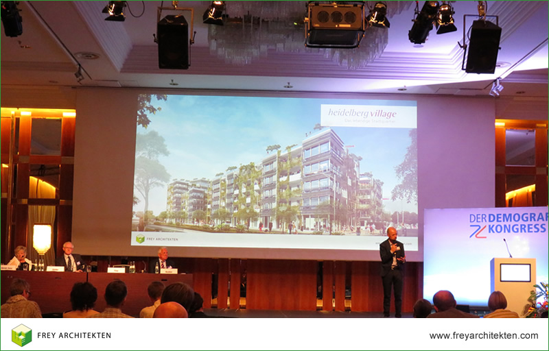 上届人口大会的获奖者沃尔夫冈·弗莱以演讲嘉宾的身份参加本届大会