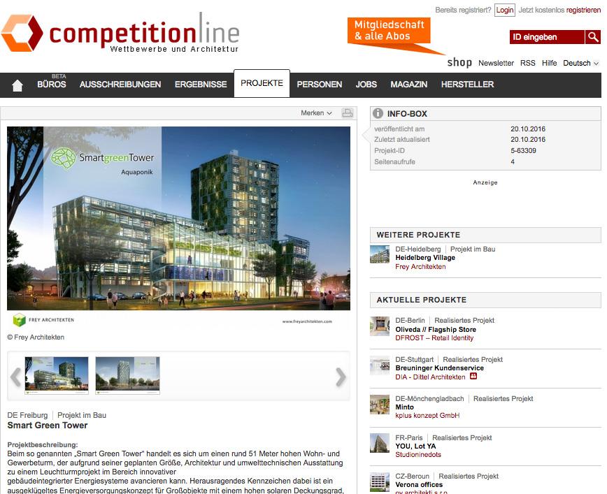 competitionline Smart Green Tower Frey Architekten