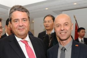 Sigmar Gabriel und Wolfgang Frey in China