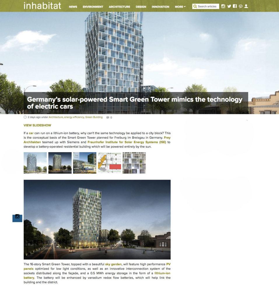 inhabitat smart green tower frey architekten