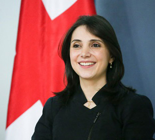 Maia Melikidze, adviser to the president of Georgia on economic affairs