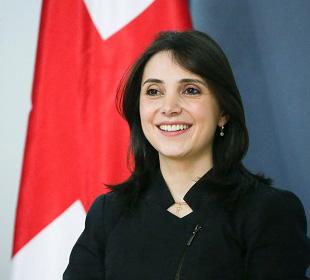Maia Melikidze, adviser to the president of Georgia on economic affairs